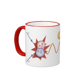 Funny Feynman Diagram Ringer Coffee Mug