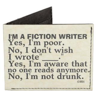 Funny Fiction Writer Answer Sheet Tyvek® Billfold Wallet
