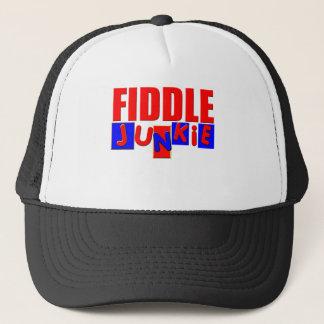 Funny Fiddle Trucker Hat