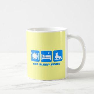 Funny figure skating coffee mug