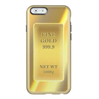 Funny Fine Gold 999.9 - Unique Gold Brick Look Incipio Feather® Shine iPhone 6 Case