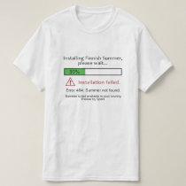 Funny Finnish Summer shirts & jackets