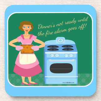 Funny Fire Alarm Supper Coaster
