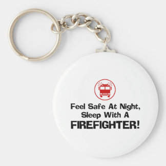 Funny Firefighter Keychain