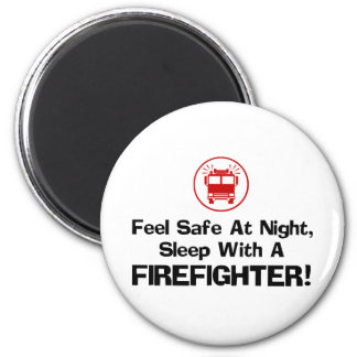 Funny Firefighter Magnet