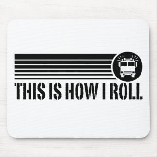 Funny Firefighter Mousepads