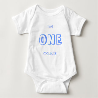 Funny First Birthday Shirt For A Boy