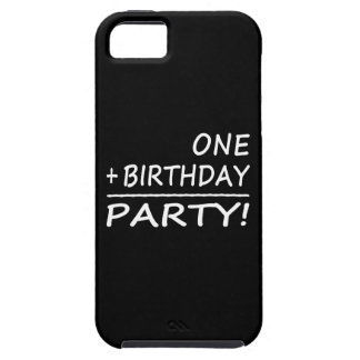 Funny First Birthdays : One + Birthday = Party iPhone SE/5/5s Case
