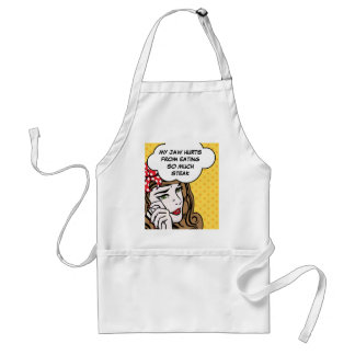 Funny first world problems cook adult apron
