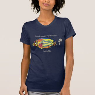 Funny Fish 21 FlatulenSEA Cartoon T Shirts