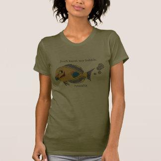 Funny Fish 25 FlatulenSEA Cartoon T Shirts