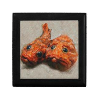 Funny Fish Keepsake Box