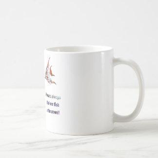 Funny Fish in the Crowd Coffee Mug