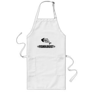 Funny Fish Long Apron