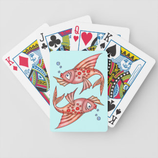 Funny Fish Playing Cards