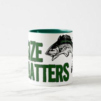 Funny Fisherman Mug - SIZE MATTERS