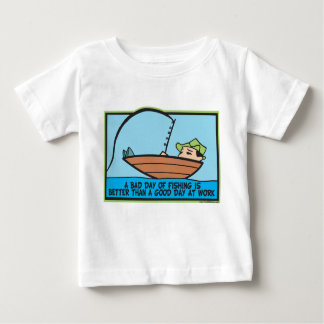 Funny Fisherman's Baby T-Shirt