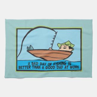 Funny Fisherman's Kitchen Towels