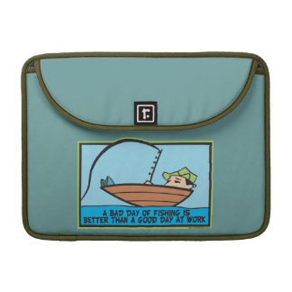 Funny Fisherman's Sleeve For MacBooks