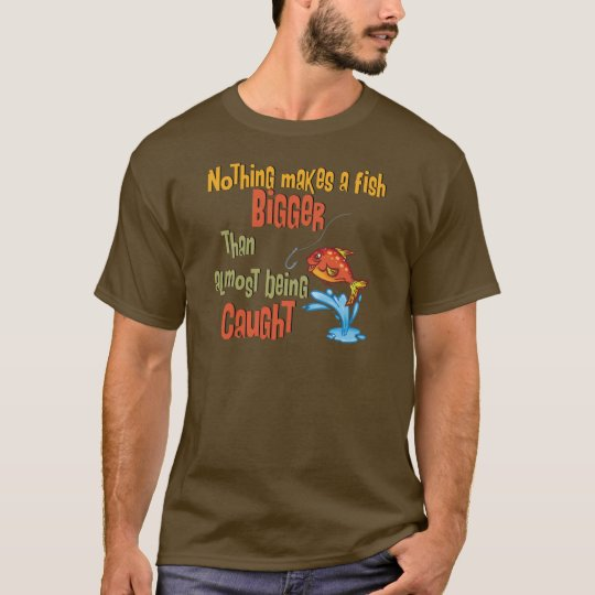 Funny Fishing - Almost Caught T-Shirt