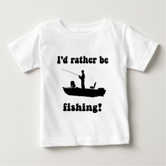 Funny fishing baby T-Shirt