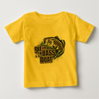 Funny Fishing Baby T-Shirt