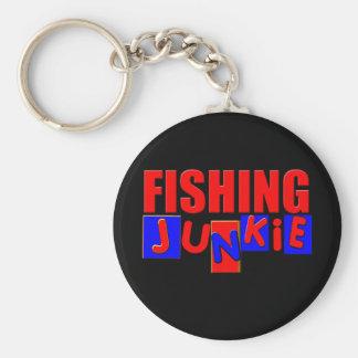 Funny Fishing Basic Round Button Keychain