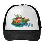 Funny Fishing - Cat Fishing Mesh Hat
