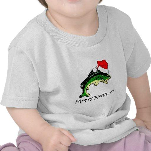 Funny fishing Christmas Shirts