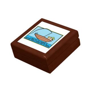Funny Fishing Jewelry Box