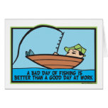 Funny Fishing Greeting Cards