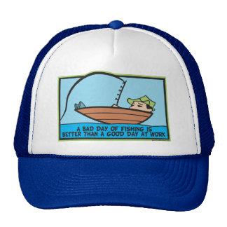 Funny Fishing Mesh Hats