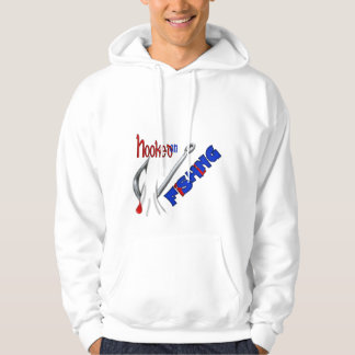 Funny Fishing Hooked On Fishing Pullover