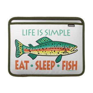 Funny Fishing MacBook Sleeve