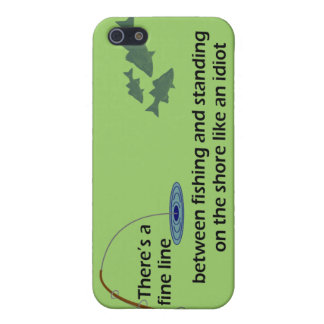 Funny Fishing iPhone4 Case