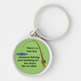 Funny Fishing Keychain