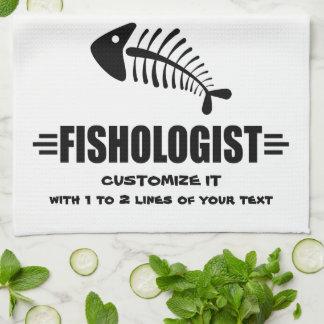 Funny Fishing Kitchen Towel