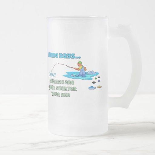 Funny Fishing Mug  Fishing Humor Fish Are Smarter