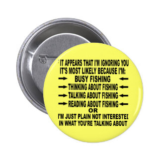 FUNNY FISHING OBSESSION BUTTON
