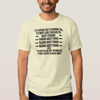 FUNNY FISHING OBSESSION SHIRT