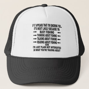 7f476dc36e8 FUNNY FISHING OBSESSION TRUCKER HAT