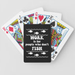 funny fishing playing cards