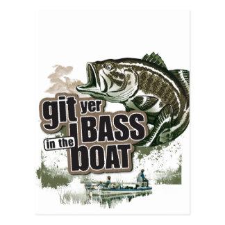 Funny Fishing Postcard