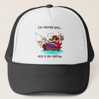 Funny fishing retirement trucker hat