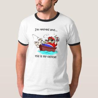 Funny fishing retirement tshirt