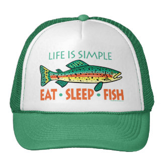Funny Fishing Saying Mesh Hats