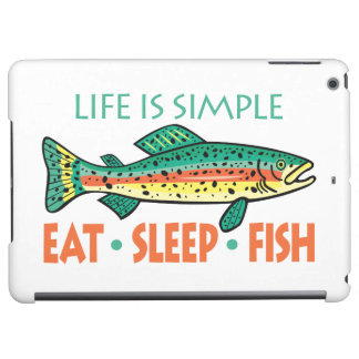 Funny Fishing Saying iPad Air Case