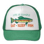 Funny Fishing Saying Mesh Hats