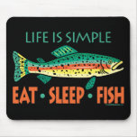 Funny Fishing Saying Mouse Pads