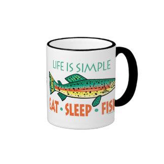 Funny Fishing Saying Coffee Mugs